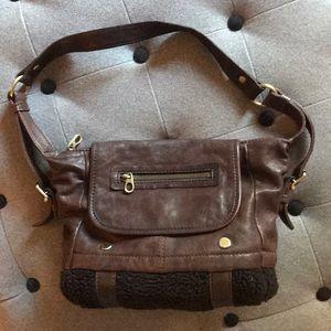 Marc New York Handbag fleece bottom